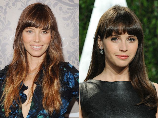 25 Long Hairstyles That Will Make You Want To Get A Fringe Asap