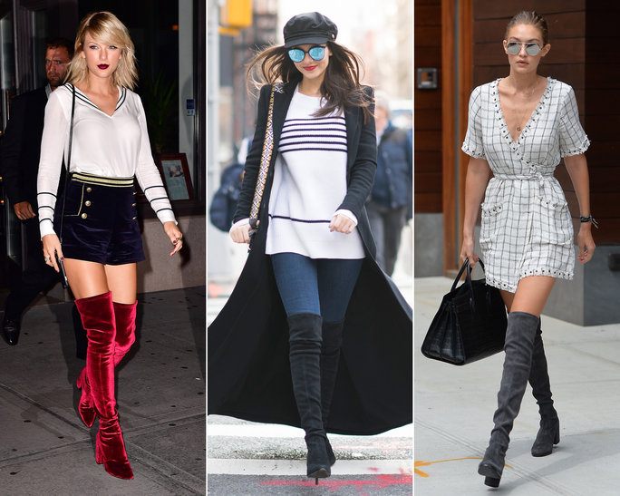 947cd2721c Where to Buy the Over-the-Knee Boots That Gigi Hadid, Taylor Swift, and  More Love