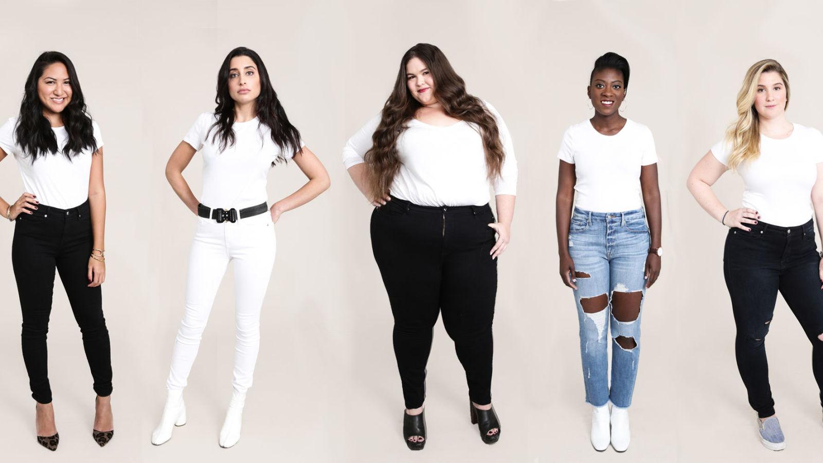 How many women wear jeans in America?