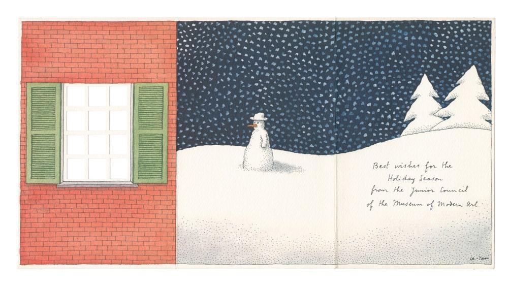Amazing Artists\' Christmas Cards – Fashion Magazine – Cometrend