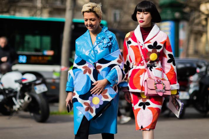 af6c5aa2b0b9 Coordinating Miu Miu Looks Are a Cheerful End to Paris Fashion Week