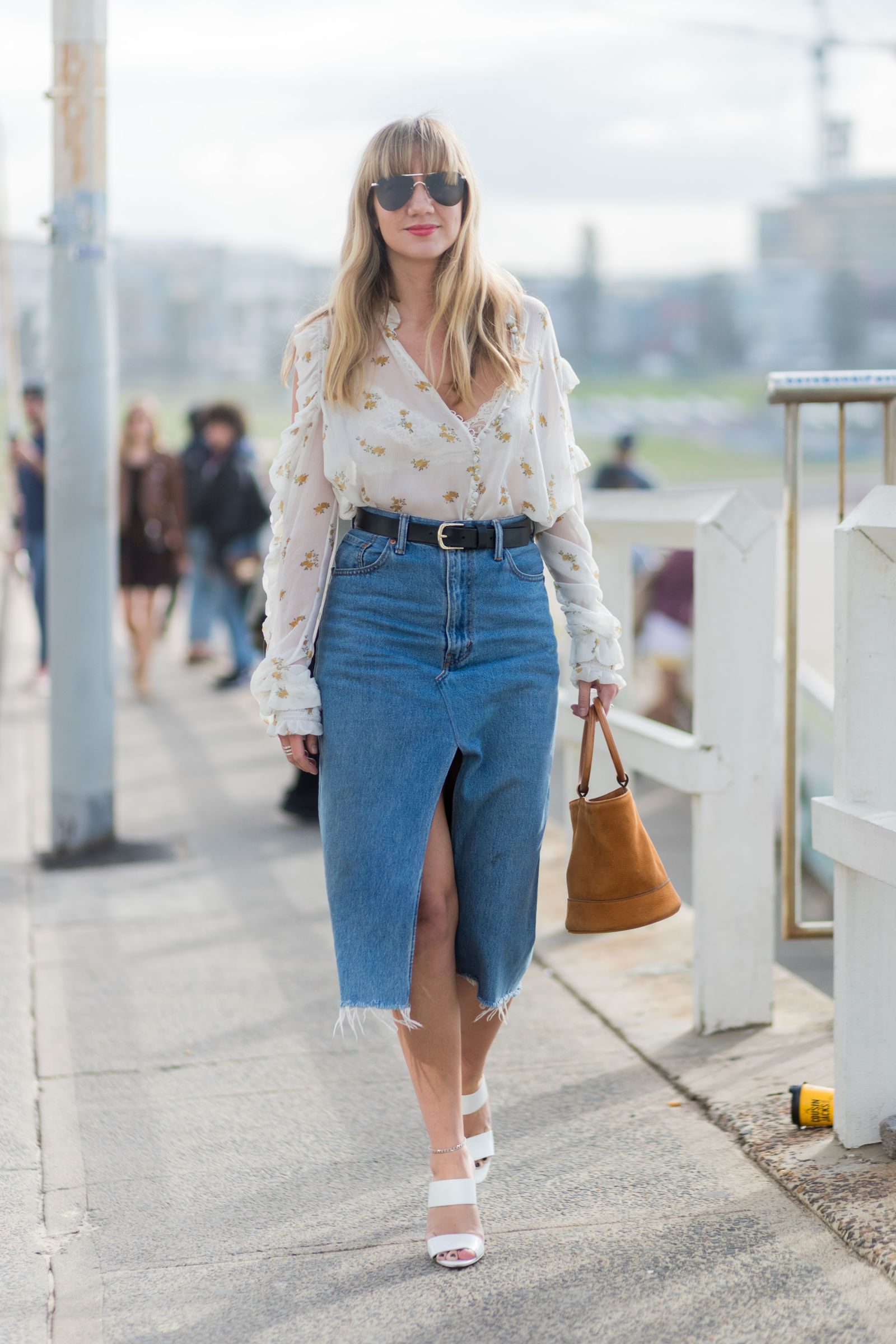 73c2faf8c0 22 Fresh New Ways To Wear a Midi Skirt This Summer – Fashion ...
