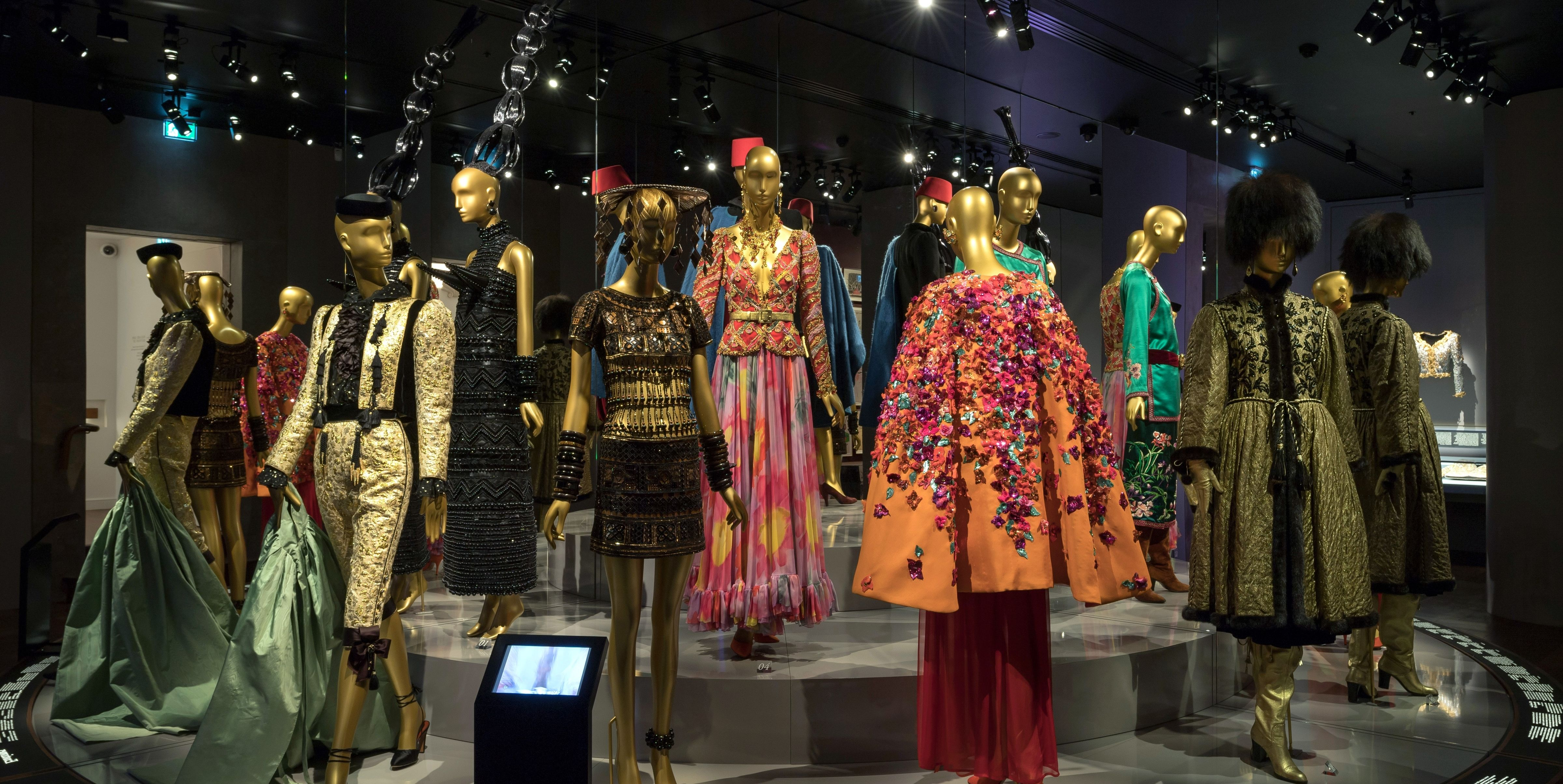 524da410a16 There's An Entire Exhibit In Paris Dedicated To YSL's Most Gorgeous Designs  And It's a Must-See