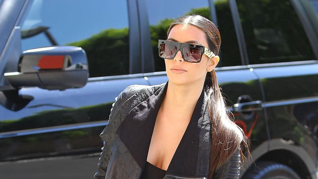 aabd35d20b719 Kanye West Has Banned Kim Kardashian From Wearing Big Sunglasses
