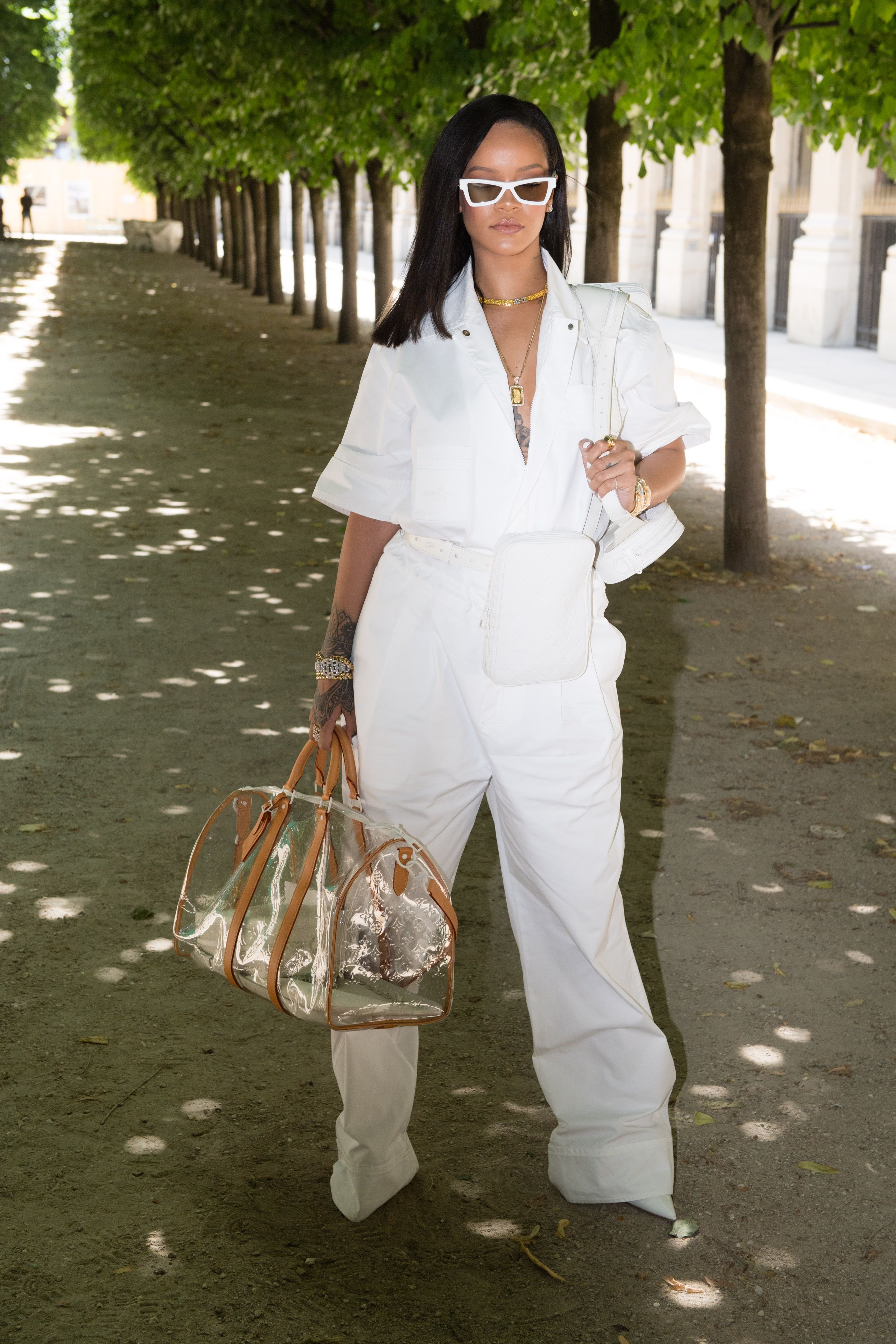 12b103bf745b Rihanna Wore Virgil Abloh s Louis Vuitton Before It Even Hit The Runway