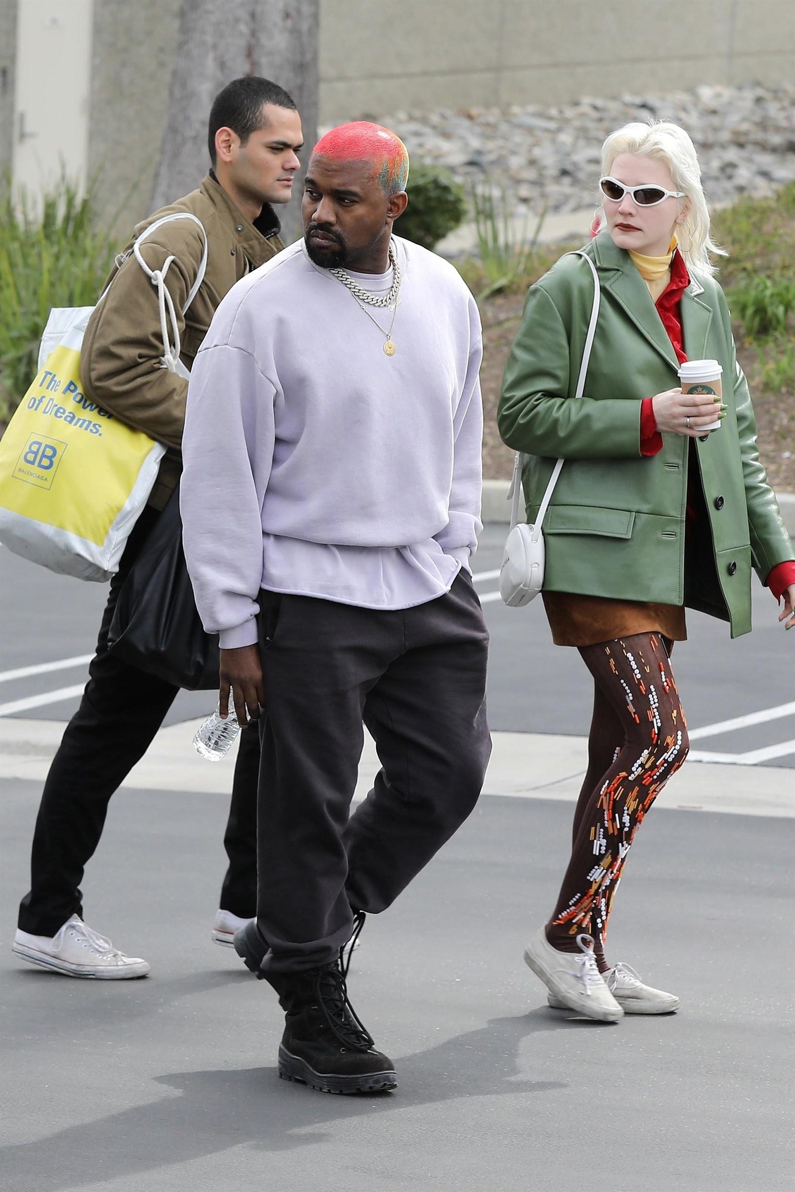 c6e81f4a3 Who Is Kanye West s Super Stylish Companion
